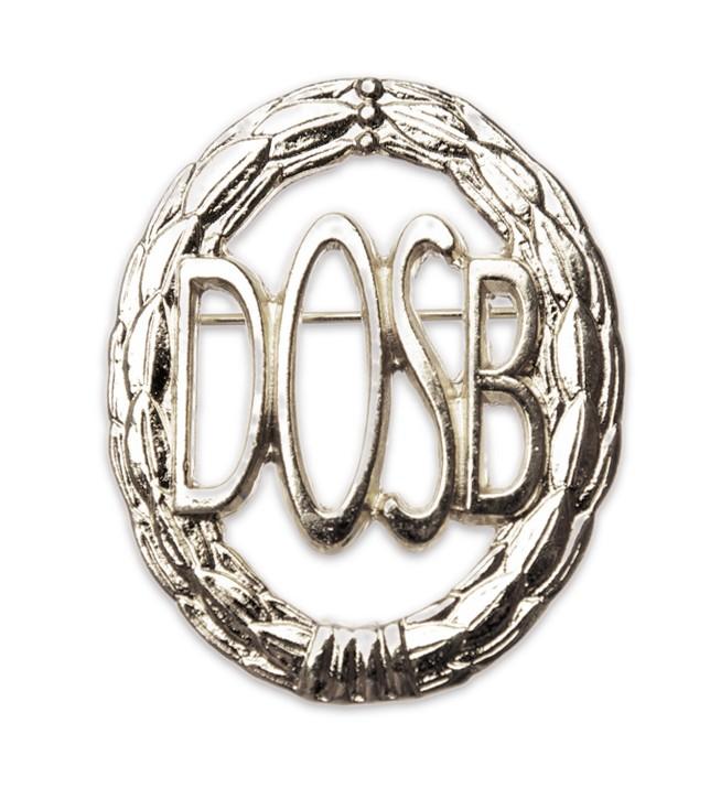 Weitere.. Bandschnalle DOSB-Sportabzeichen Silber